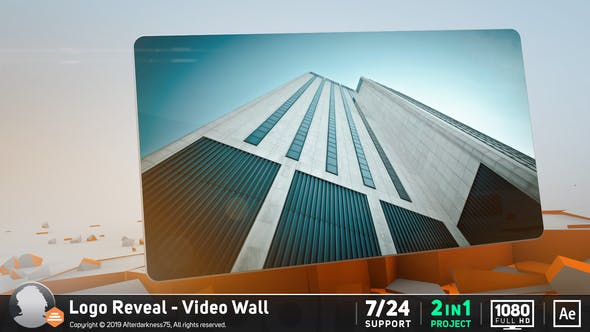 Videohive Logo Reveal Video Wall 156167