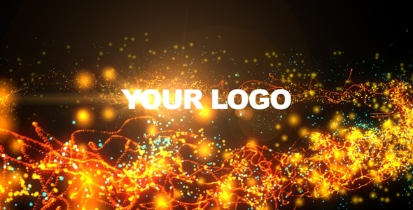 Videohive Logo Strings & Particles Animation