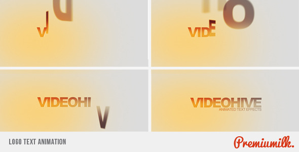 Videohive Logo Text Animation