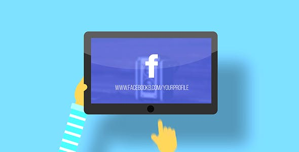 Videohive Logo on Tablet 20225039