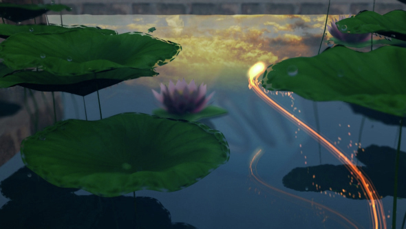 Videohive Lotus Pond Opener 15279861