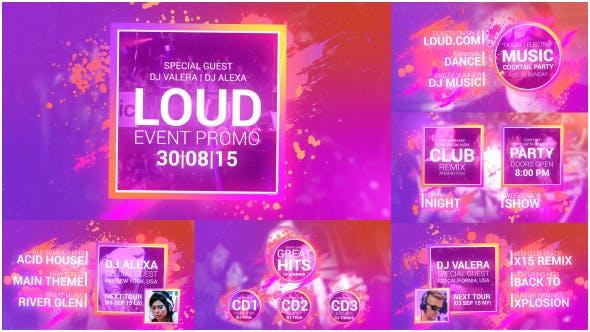 Videohive Loud Event Promo 12612621