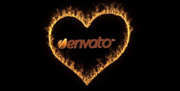 Videohive Love Fire 3830757