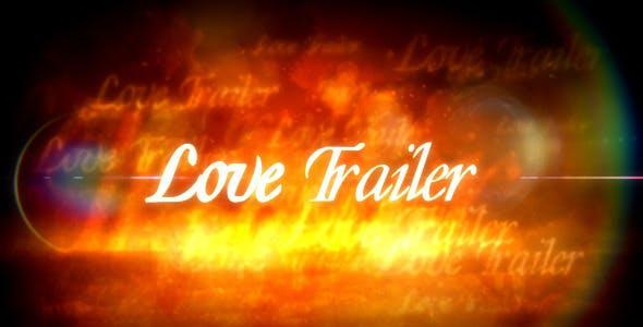 Videohive Love Trailer 588248