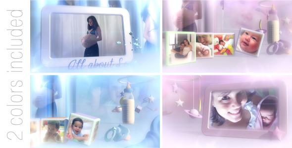 Videohive Lovely Baby