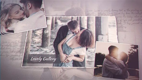 Videohive Lovely Gallery 23260338