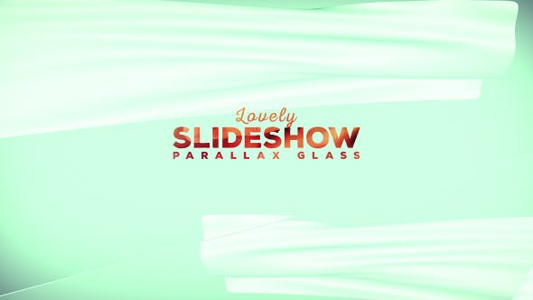 Videohive Lovely Slideshow Parallax Glass 15810881