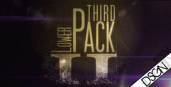 Videohive Lower Third Pack Vol.2 108076
