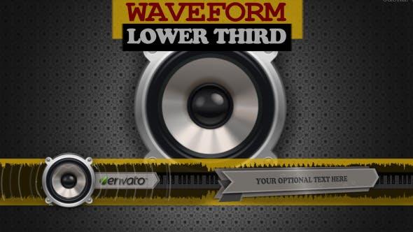 Videohive Lower Third Waveform 4427786