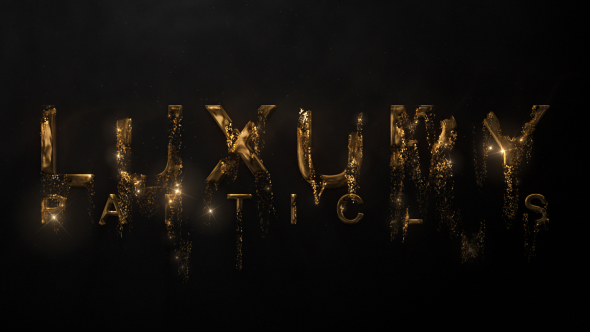 Videohive Luxury Particle Logo 20495627