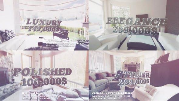 Videohive Luxury Slideshow Real Estate Hotel Resort Promo 7375723