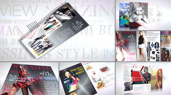 Videohive Magazine Promo 19495820