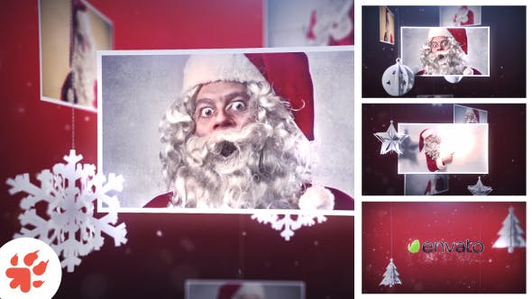 Videohive Magic Christmas Slideshow 13699179