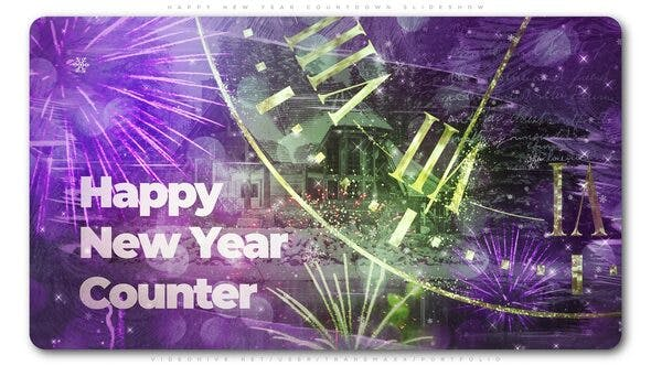 Videohive Magical Countdown New Year Slideshow 25020250