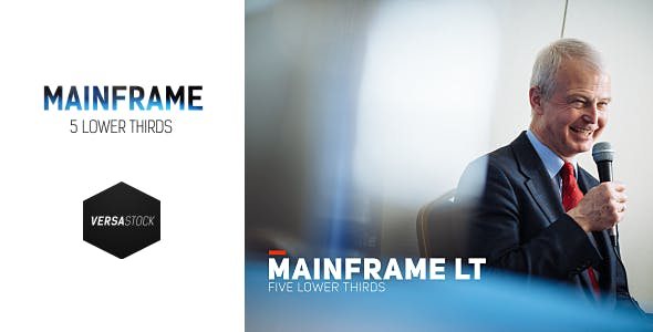 Videohive Mainframe LT 10802289