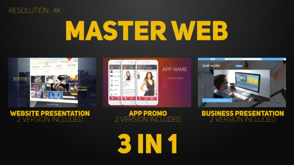Videohive Master Web 9276825