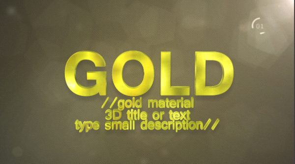 Videohive Materials_Project