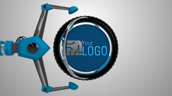 Videohive Mechanical Arms Logo 20270398