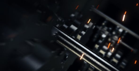 Videohive Mechanical Ident 5841684