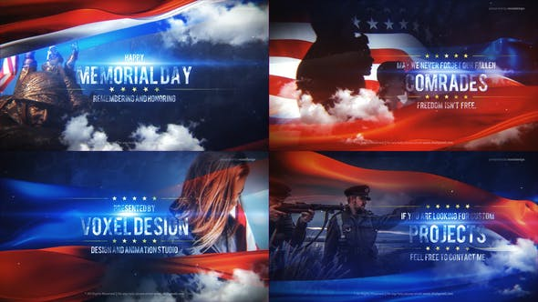 Videohive Memorial Day Title 26834386