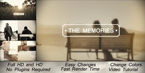 Videohive Memories Slideshow