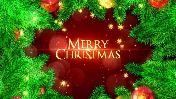 Videohive Merry Christmas Opener 22931282