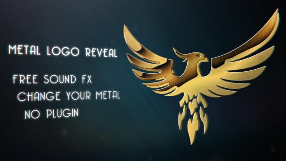 Videohive Metal Logo Reveal 18085423