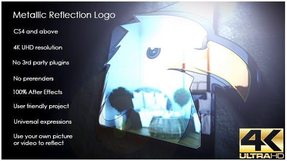 Videohive Metallic Reflection Logo 16719520