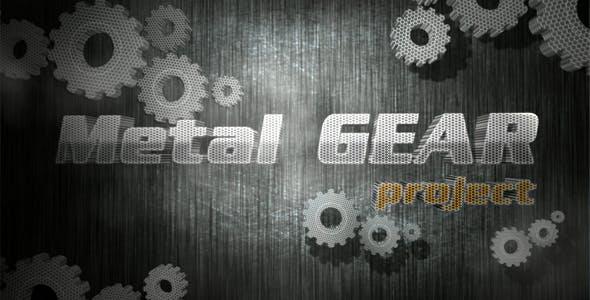 Videohive Metl Gear project 148133