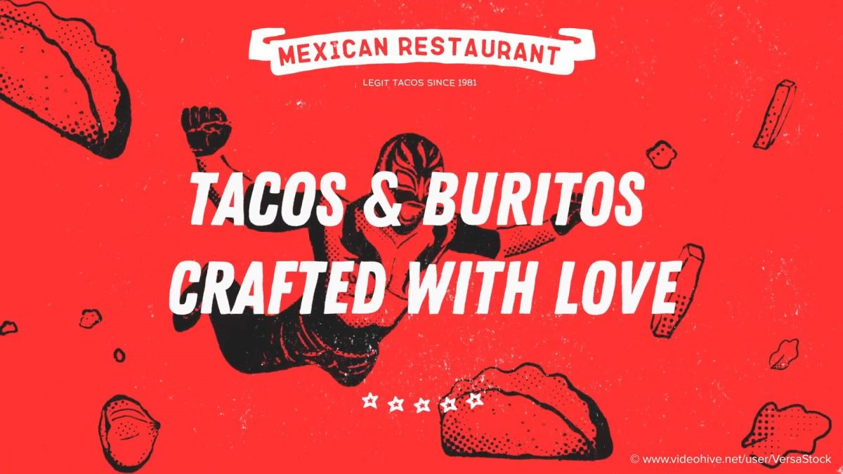 Videohive Mexican Restaurant Promotion 21579716