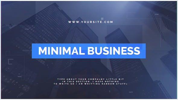 Videohive Minimal Business 22281652
