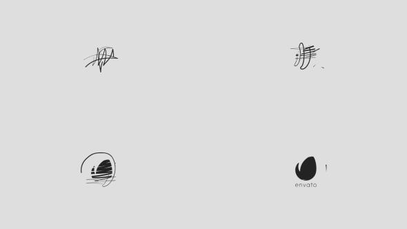 Videohive Minimal Drawing Logo 20313397