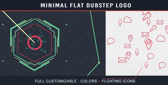 Videohive Minimal Flat Dubstep Logo 17471739