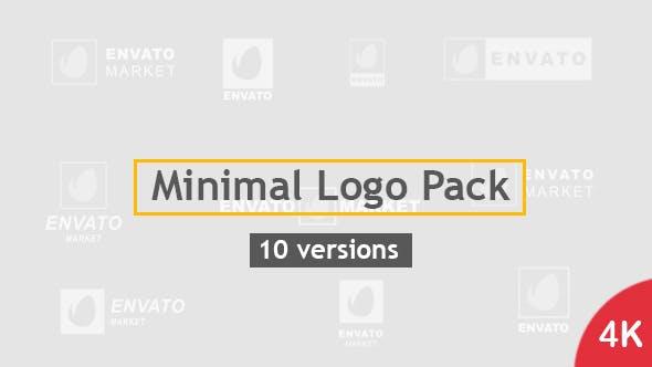 Videohive Minimal Logo Pack 10 Versions 20479756