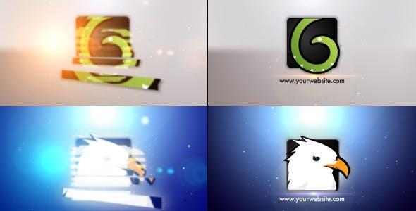 Videohive Minimal Slice Logo V2 9996514
