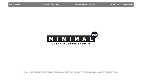 Videohive Minimal Titles II 19917659