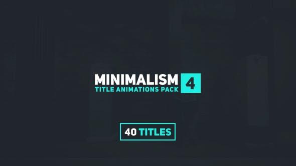 Videohive Minimalism 4 15802092
