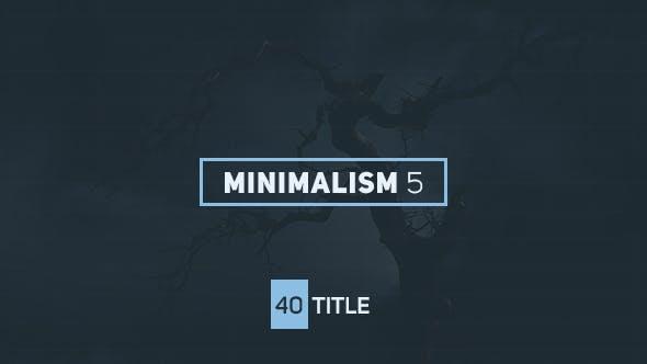 Videohive Minimalism 5 16135913