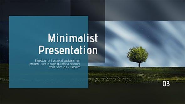 Videohive Minimalist Clean Presentation 21477462