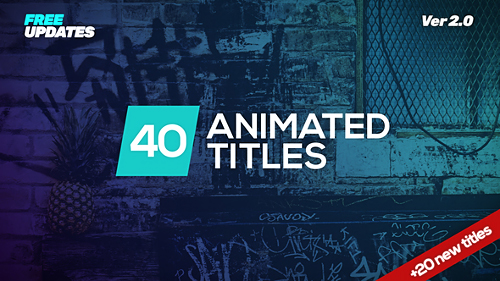 Videohive Minmal Dynamic Typography 22133131
