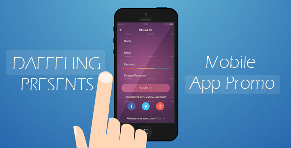 Videohive Mobile App Promo 11453774