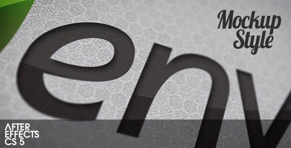 Videohive Mockup Style 2376703