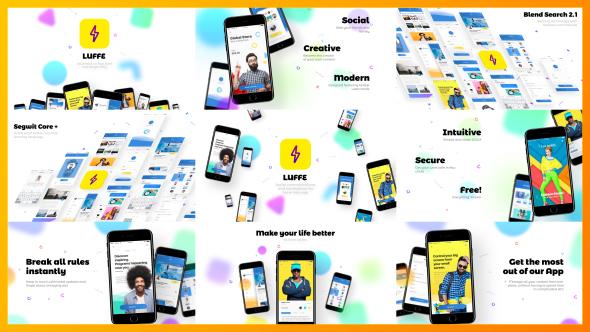 Videohive Modern App Promo Advertisement Presentation 20938706