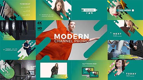 Videohive Modern Channel Promo v2 21413897