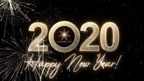 Videohive Modern New Year Countdown Clock 2020 23057493