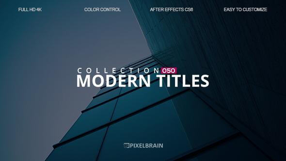 Videohive Modern Titles 19592033