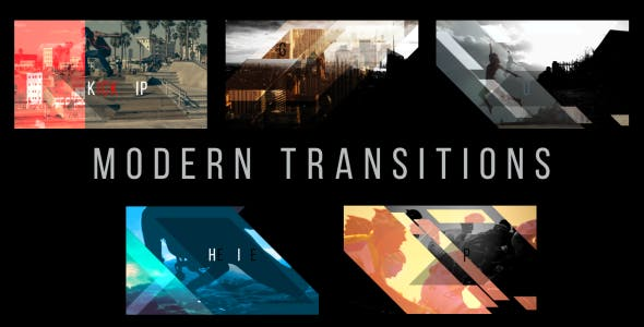 Videohive Modern Transitions 5 Pack Volume 3 18798961