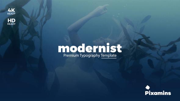 Videohive Modernist Premium Typography 21681055