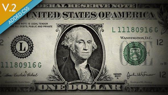 Videohive Money Animation 3129575