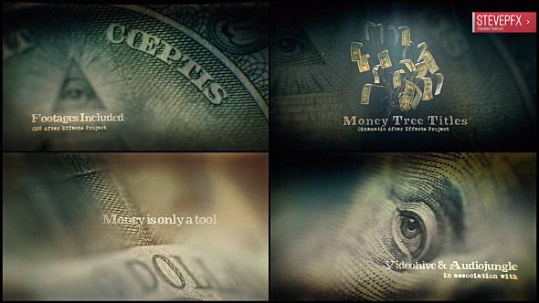 Videohive Money Tree Title 20267752
